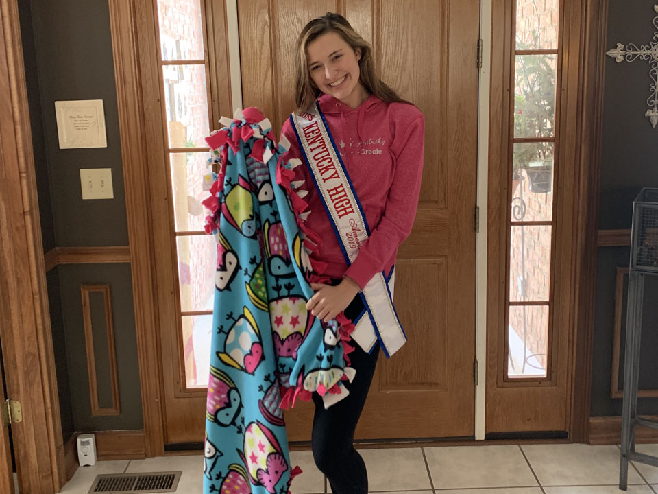 Be Brave And Shine Lily Mclaughlin Miss Kentucky High School 2019 Winner Champ 5